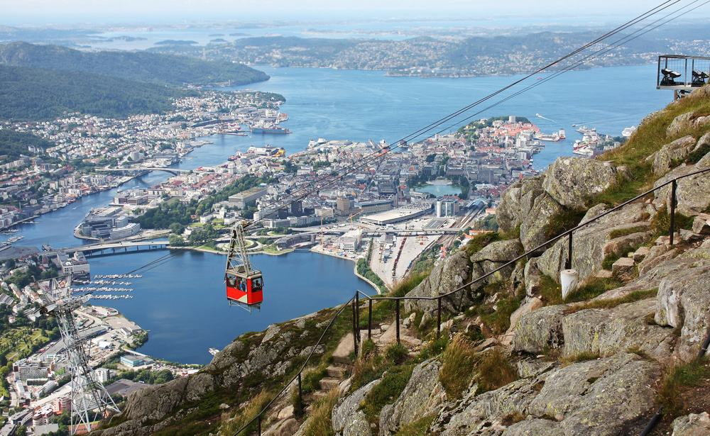 Mount Ulriken, Bergen, Norway