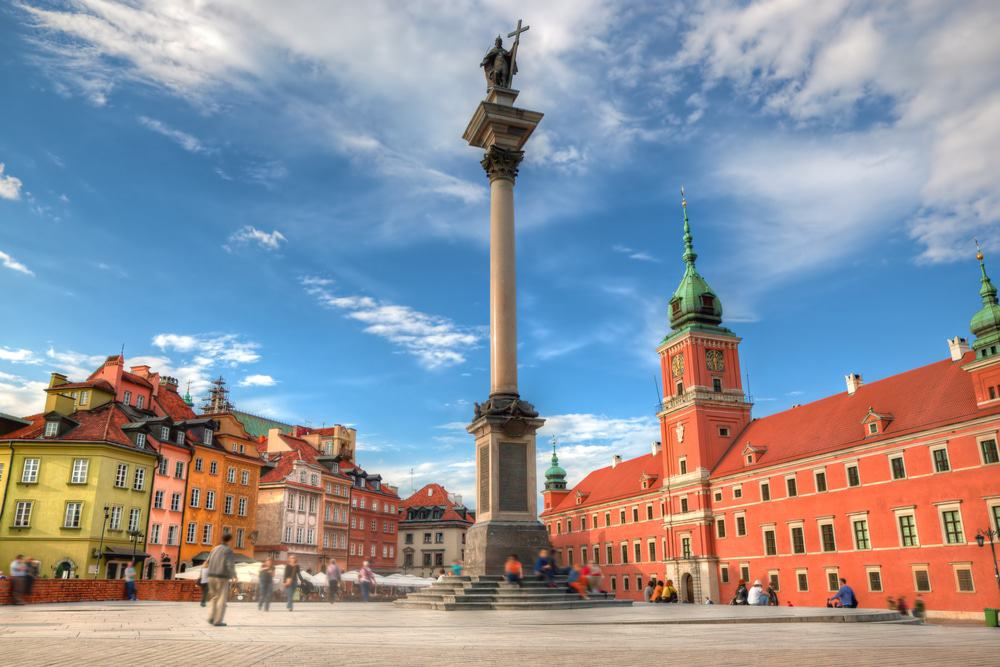 Castle Square, Warsaw