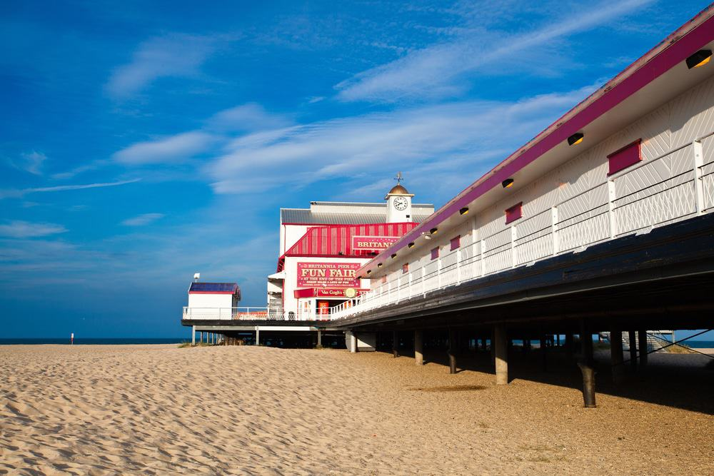 Great Yarmouth, Old Pier