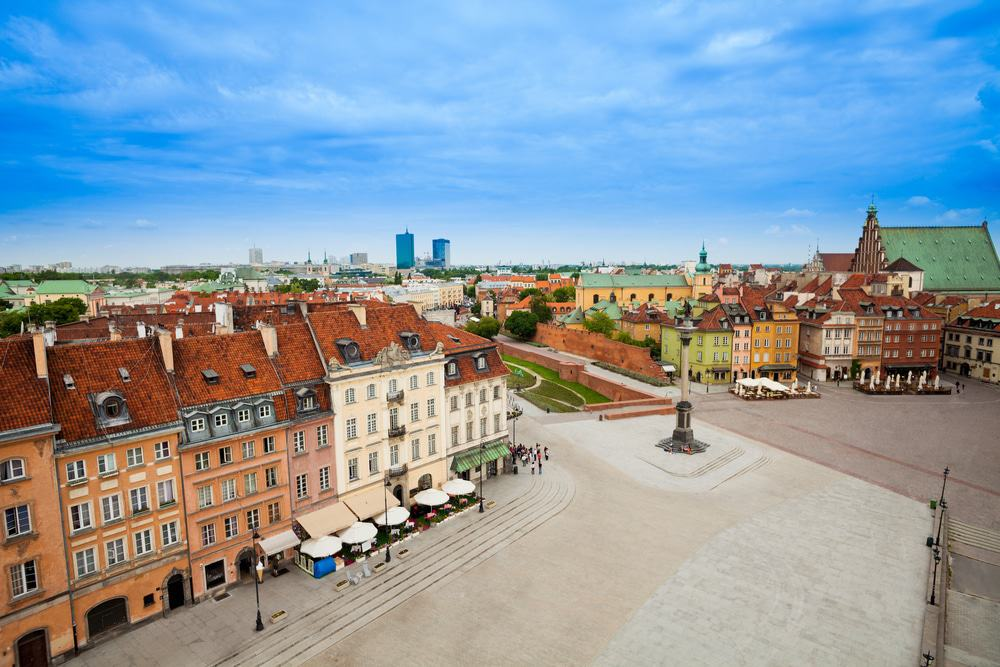 View from Bell Tower, Warsaw