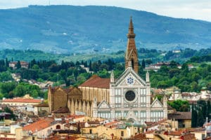 The Basilica of Santa Croce, Florence