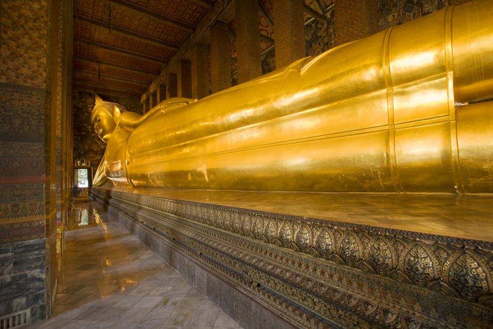 Reclining Budha, Wat Pho To