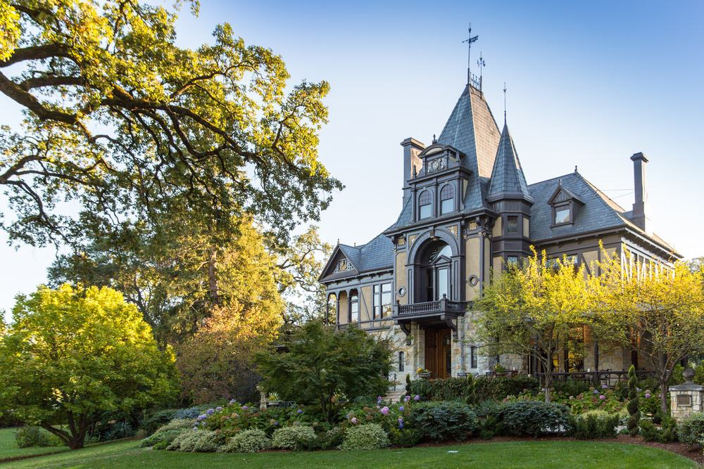 Beringer Vineyards' Rhine House Building, St Helena, California