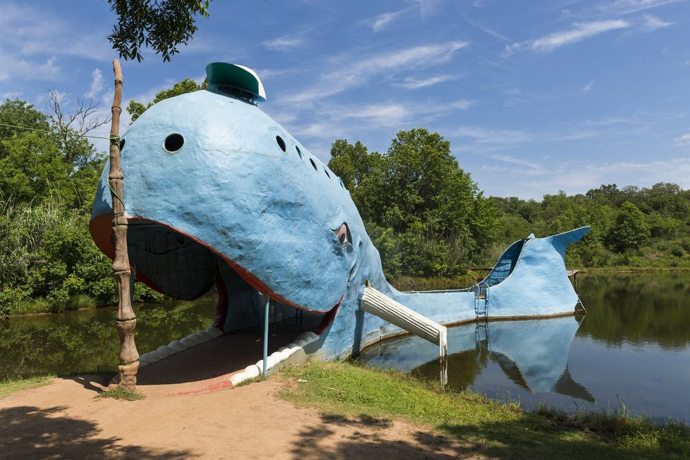 The Blue Whale, Oklahoma