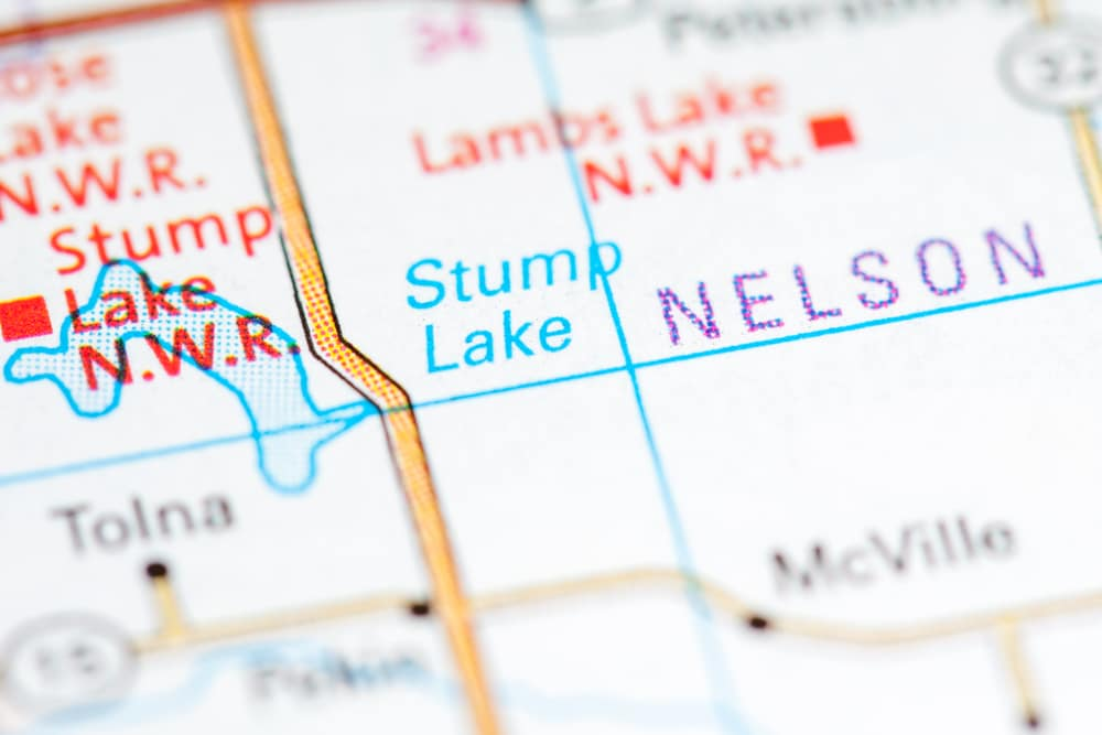 Stump Lake, North Dakota