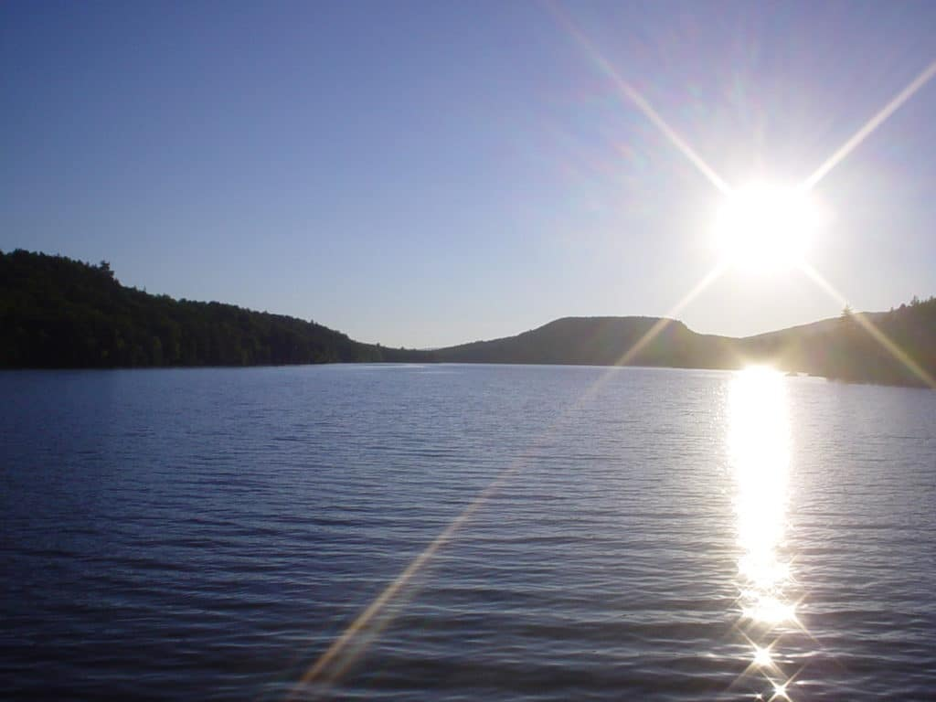 Christine Lake, new Hampshire