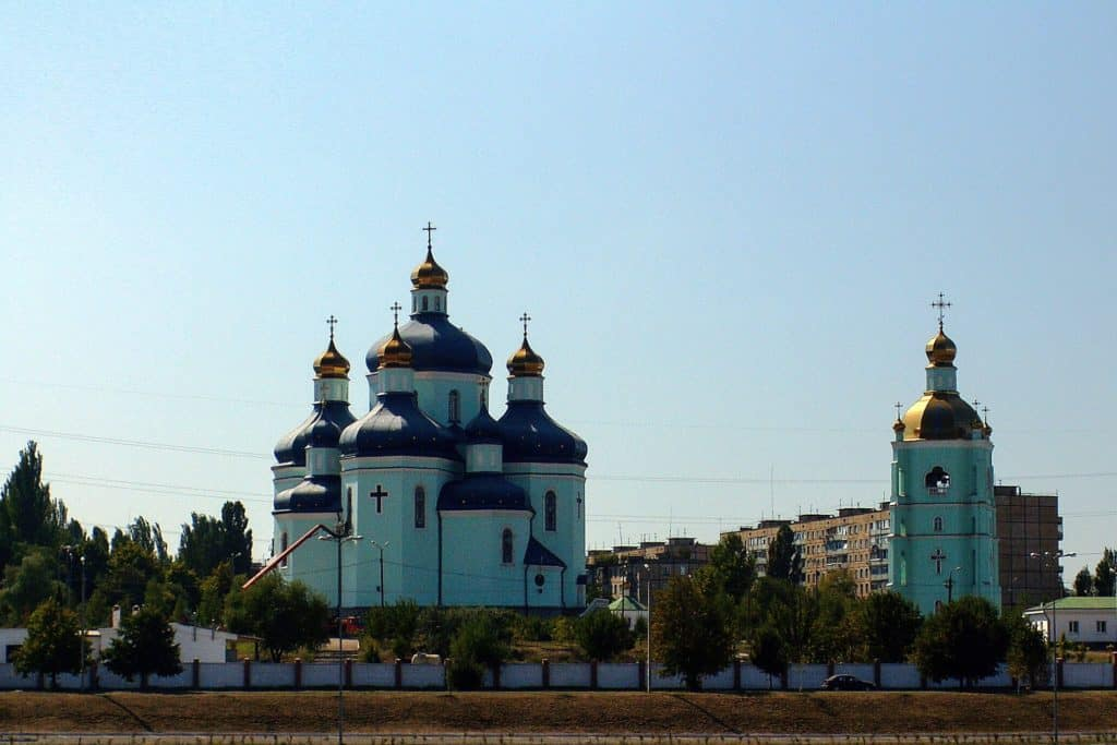 Transfiguration Cathedral, Krivyi Rih