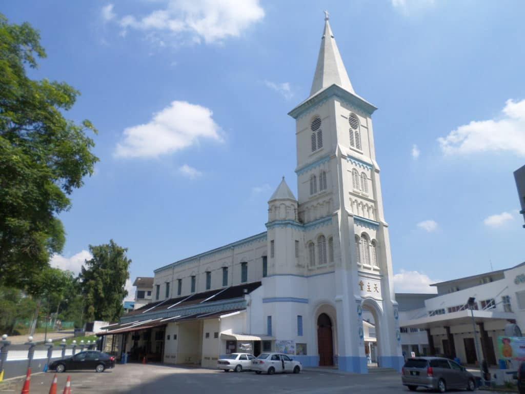 Roman Catholic Church of the Immaculate Conception, Johor Bahru