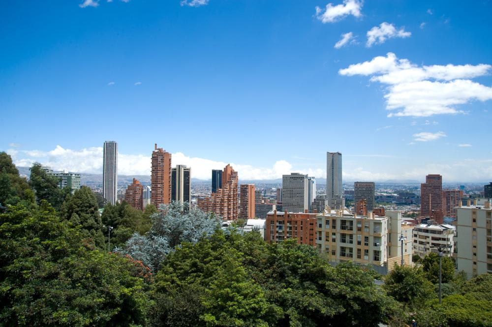 View from Eastern Hills, Bogota