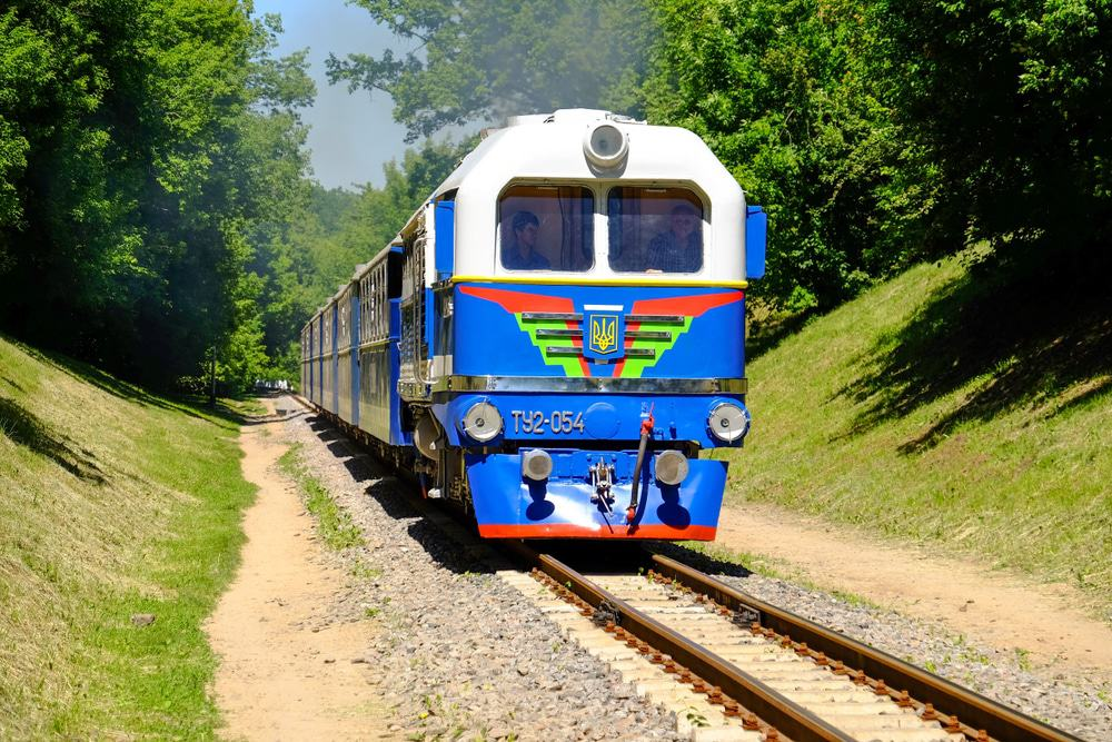 Children's Railway, Kharkiv