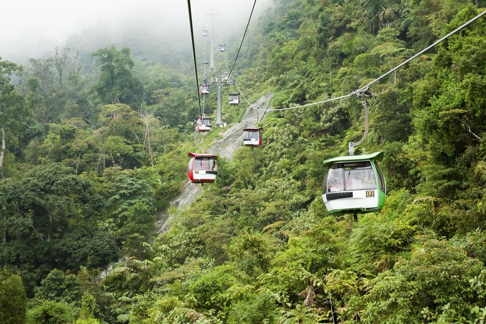 Cable Cars to Gohtong Jaya