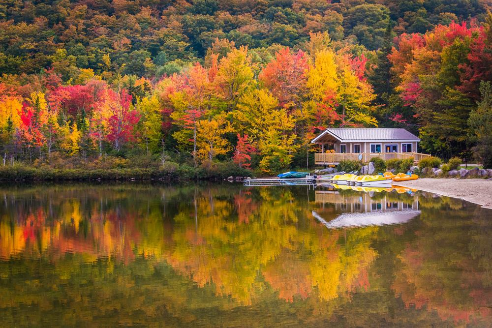 Echo Lake, New Hampshire