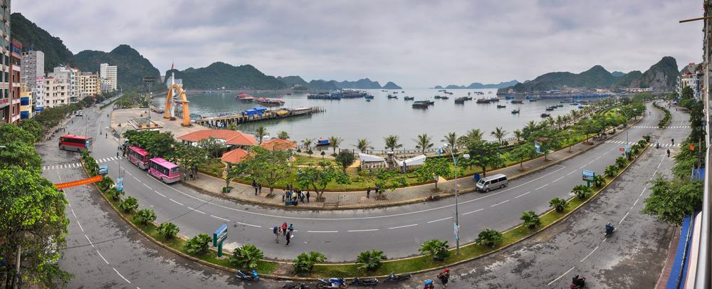 Cat Ba Island Waterfront