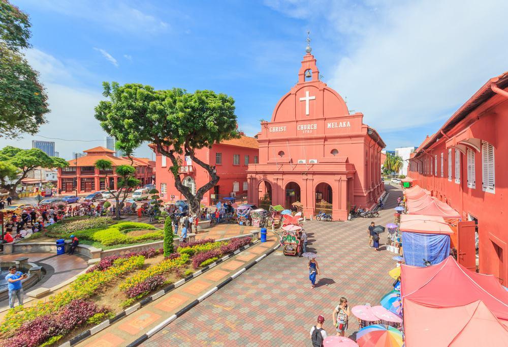 Christ Church & Dutch Square, Malacca