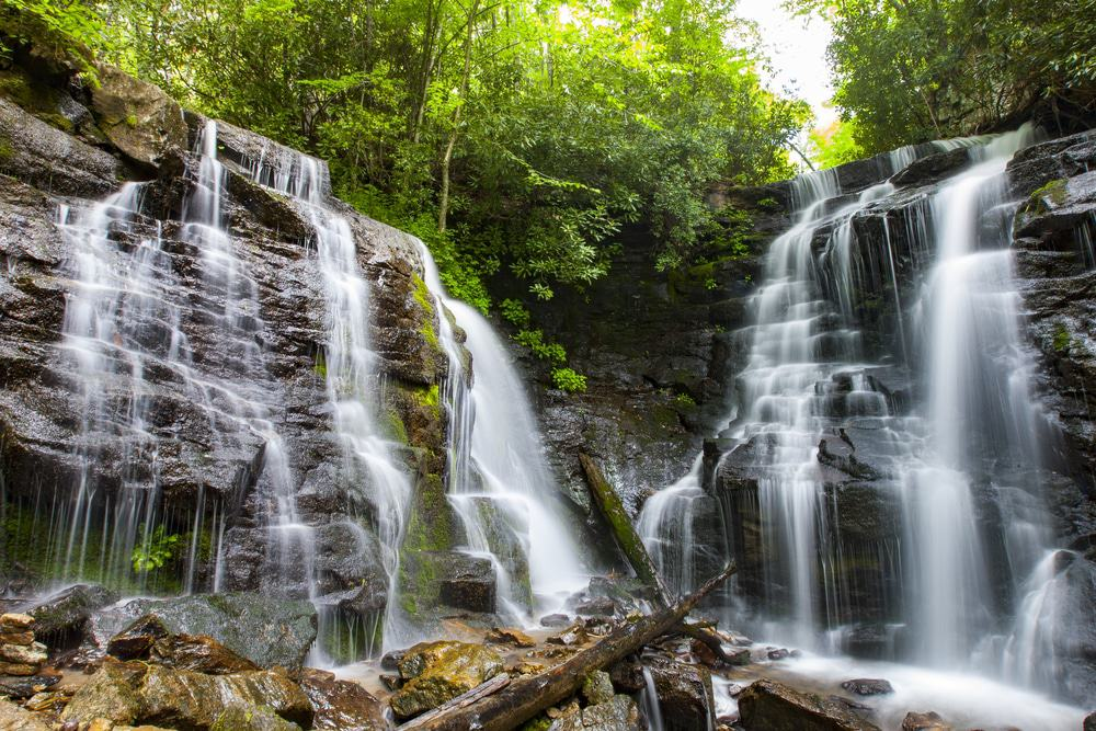 Soco Falls, Maggie Valley, North Carolina