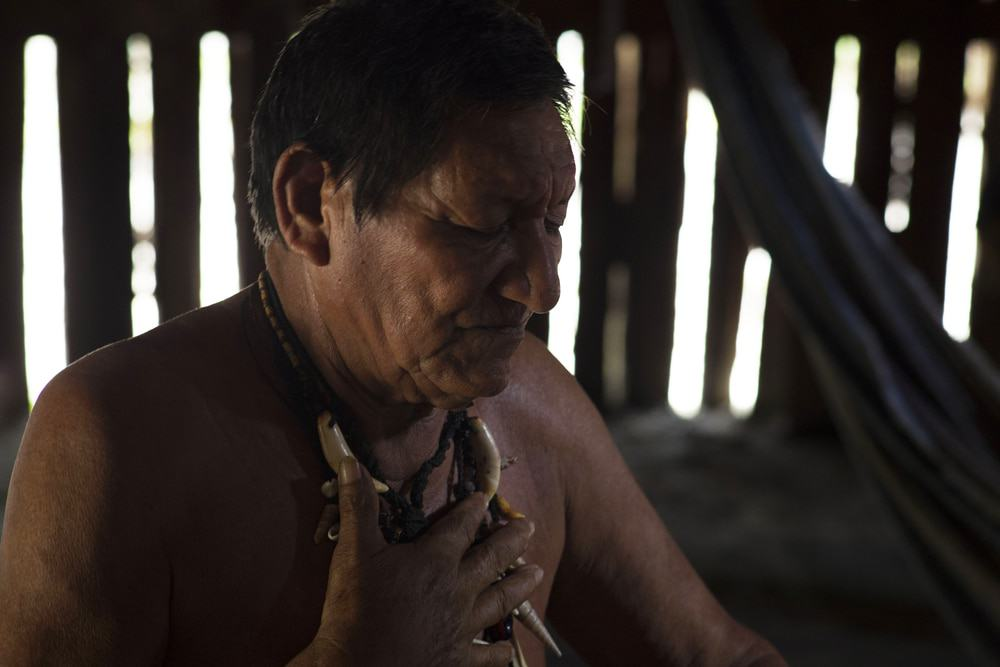 Native Amazonian Man