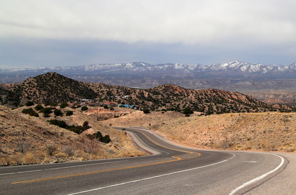 High Road to Taos, New Mexico