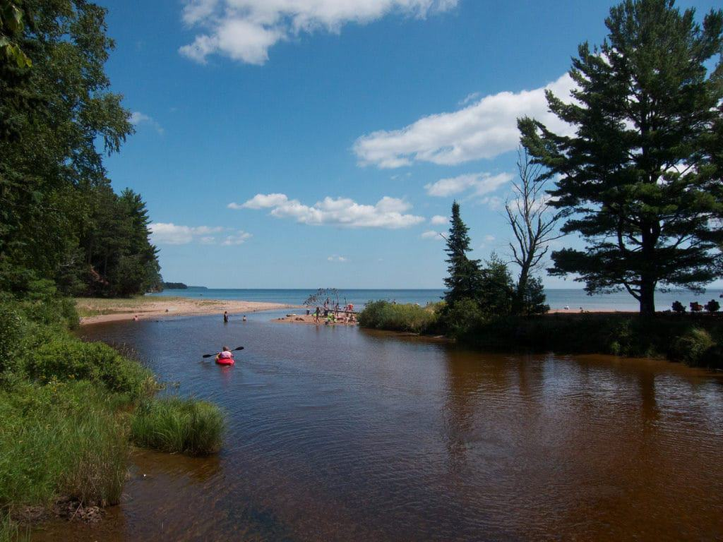 Big Bay Beach, Madeline Island