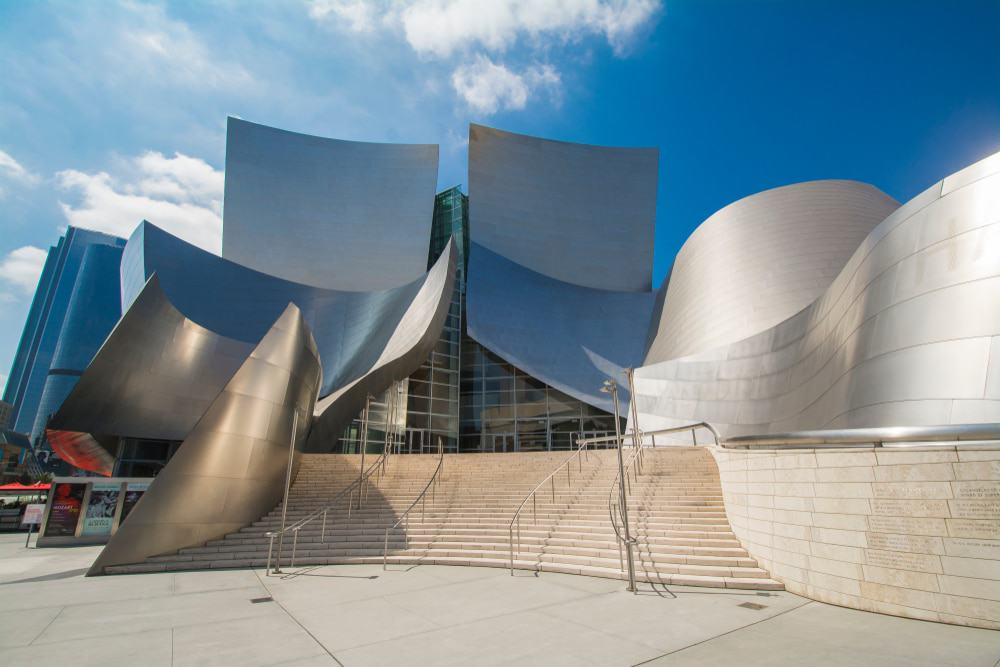 Walt Disney Concert Hall, Music Center, LA