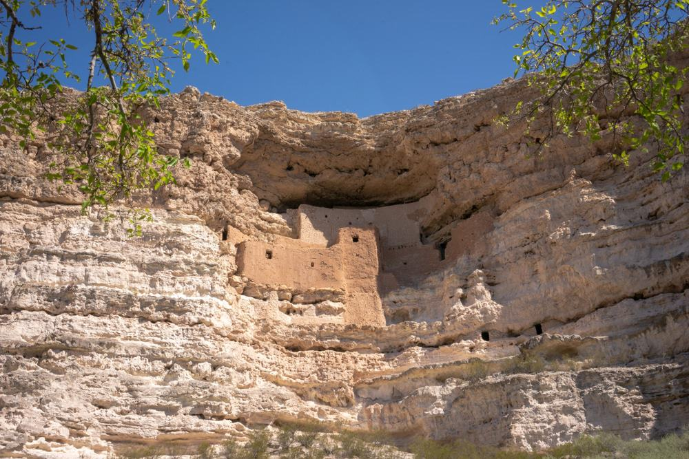 Montezuma Castle near Camp Verde