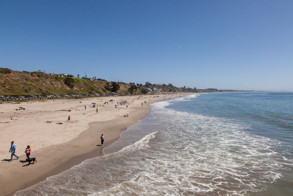 Seacliff State Beach, Santa Cruz, California