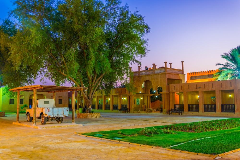 Old Palace Museum in Al Ain