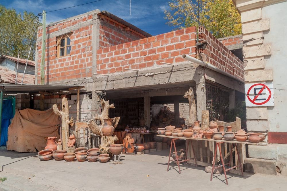 Pottery shop in Humahuaca