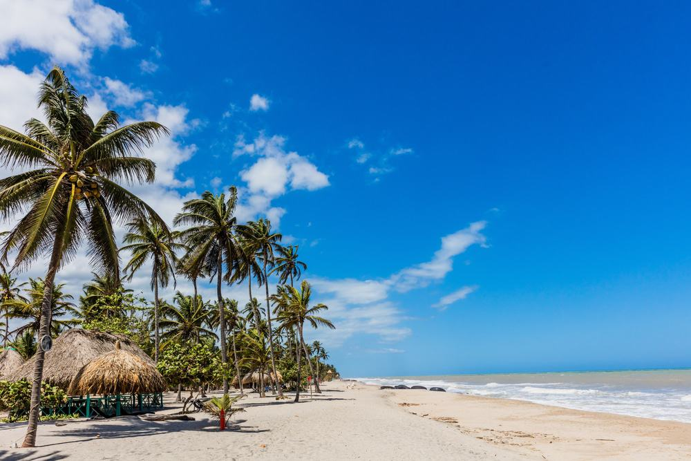Playas de Palomino, Colombia