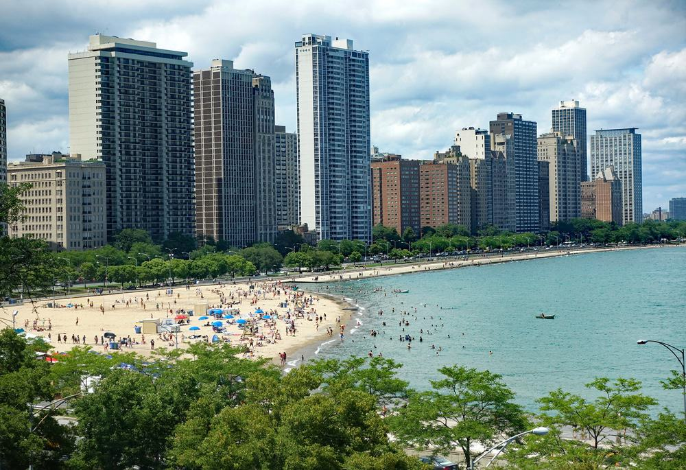 Oak Street Beach, Chicago