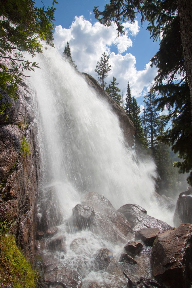 Ouzel falls in Rocky Mountains National Park, Colorado
