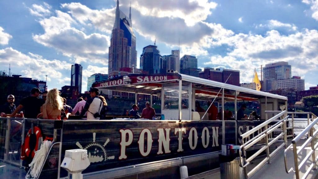 Pontoon Saloon Party Cruise