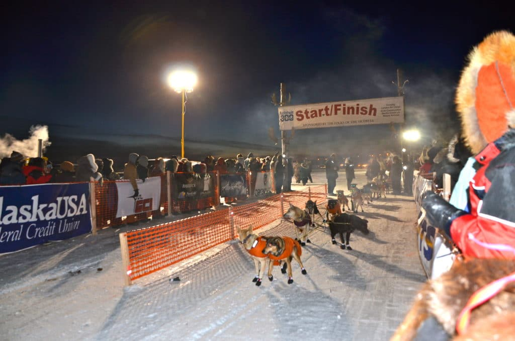 Kuskokwin 300 Sled Dog Race