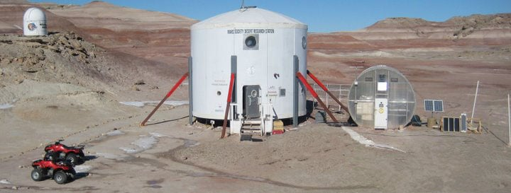 Mars Desert Research Station, Hanksville