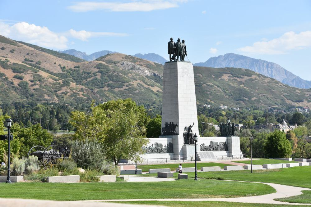 This Is The Place Monument, Salt Lake City
