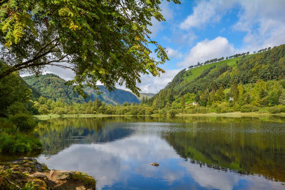 Glendalough Upper Lake, Ireland