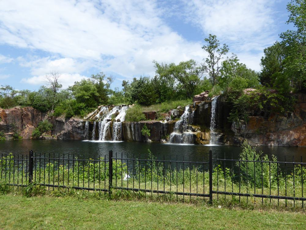 Granite Quarry Falls, Montello