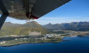 Float Airplane, Kodiak Island