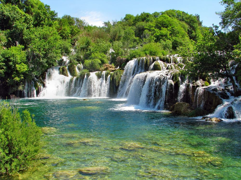 Roski Waterfall, Croatia