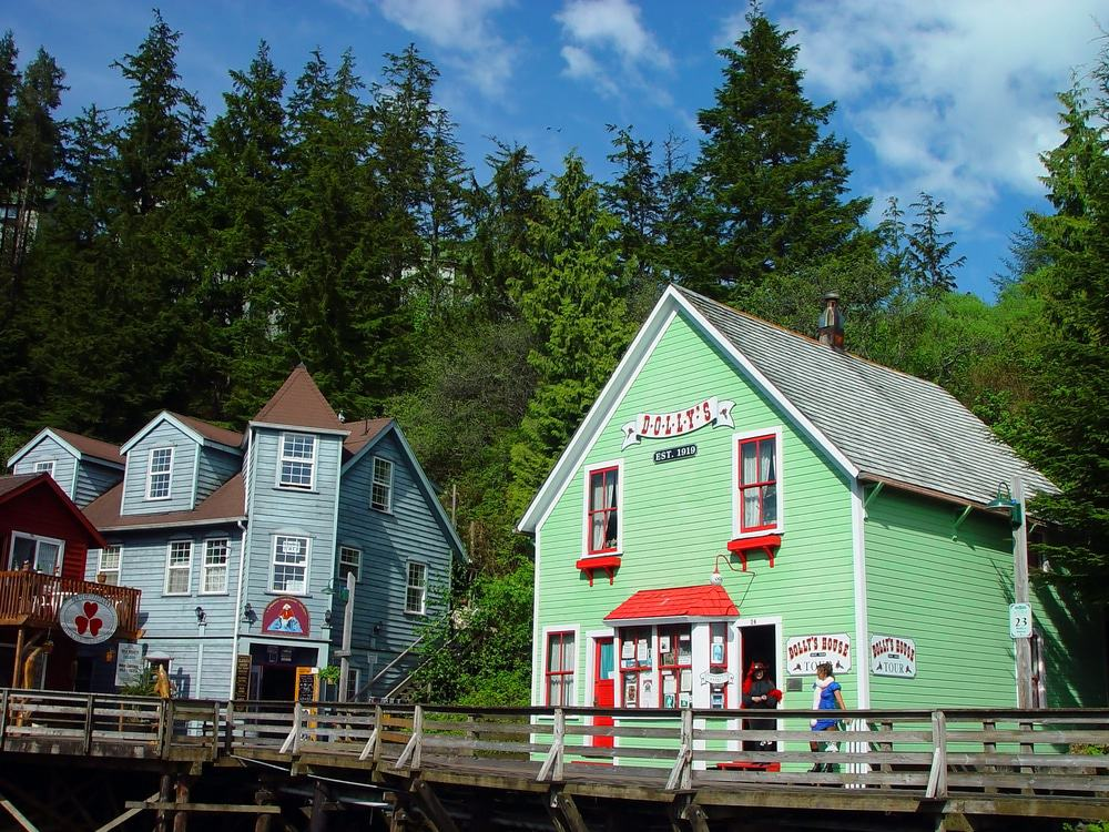Dolly's House From Ketchikan, Alaska