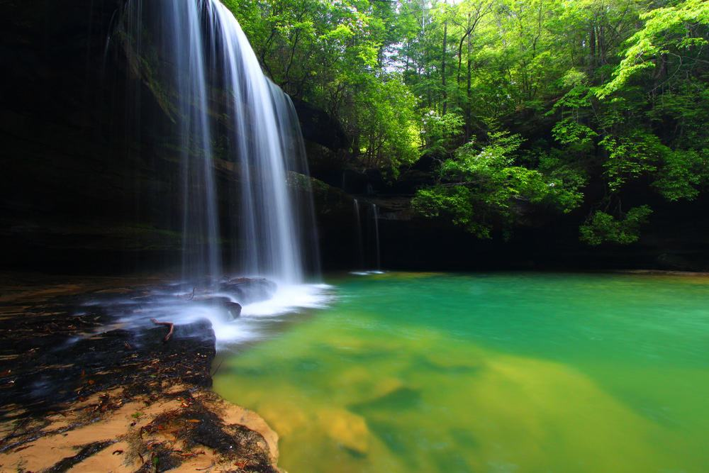 Upper Caney Creek Falls, Bankhead National Forest