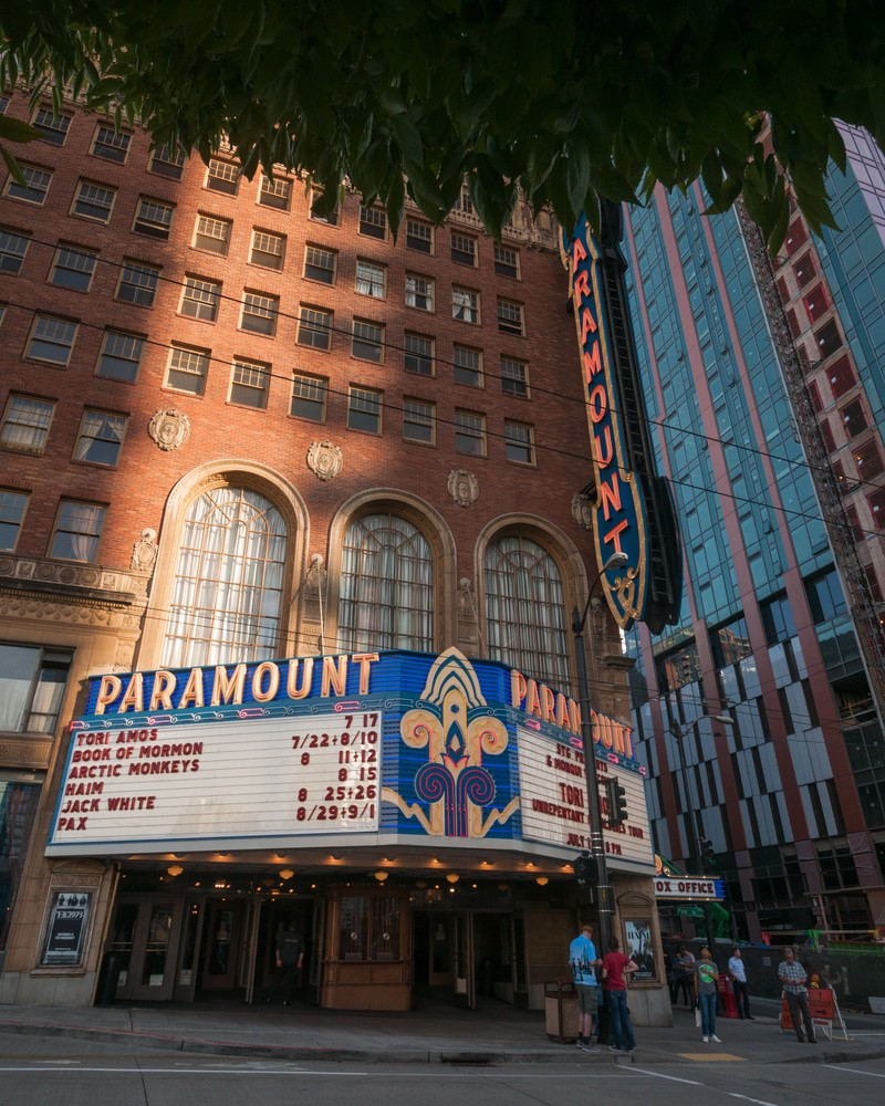 Paramount Theater, Seattle