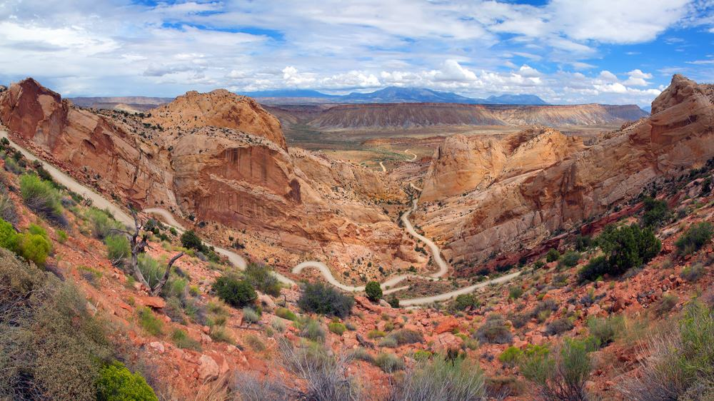 Burr Trail Switchbacks, Utah