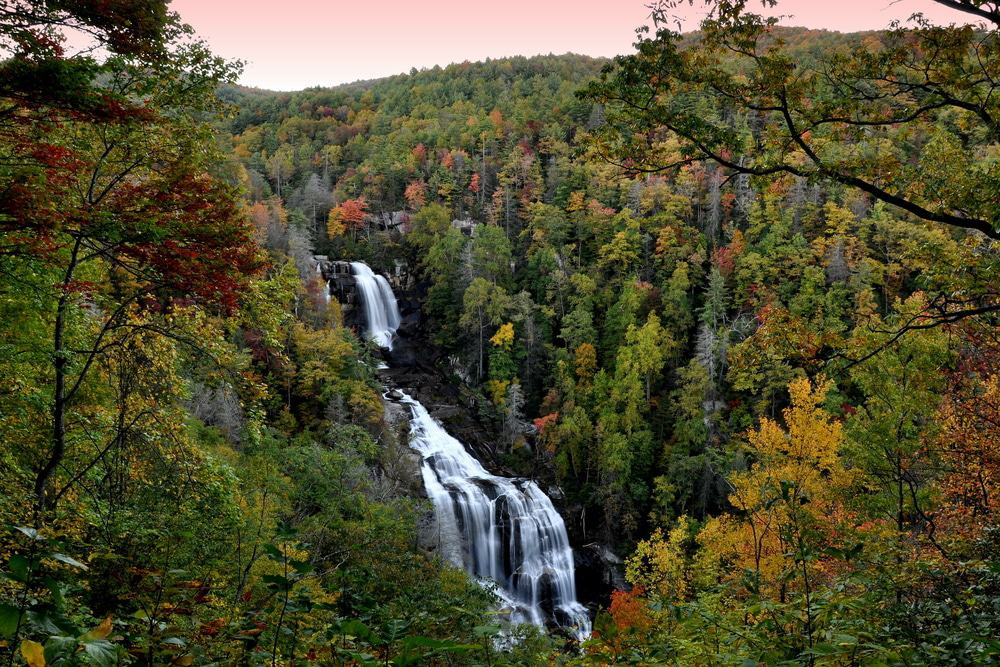 Whitewater Falls, North Carolina