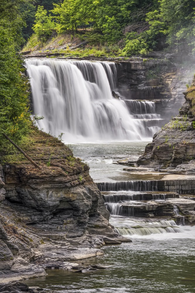 Lower Falls, Genesee River, Rochester