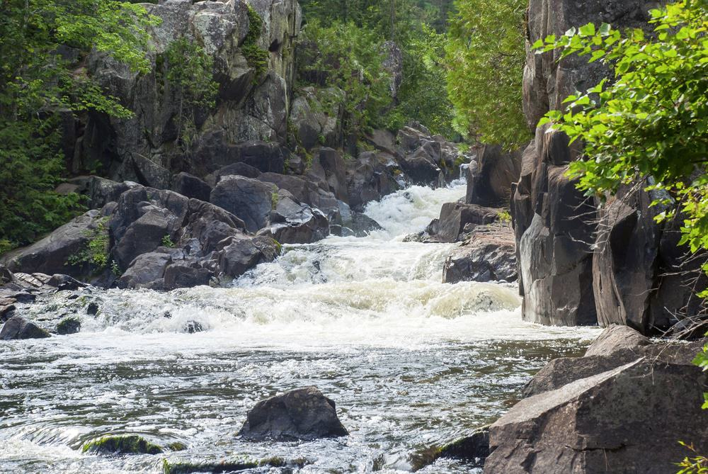 Dave's Falls, Marinette County