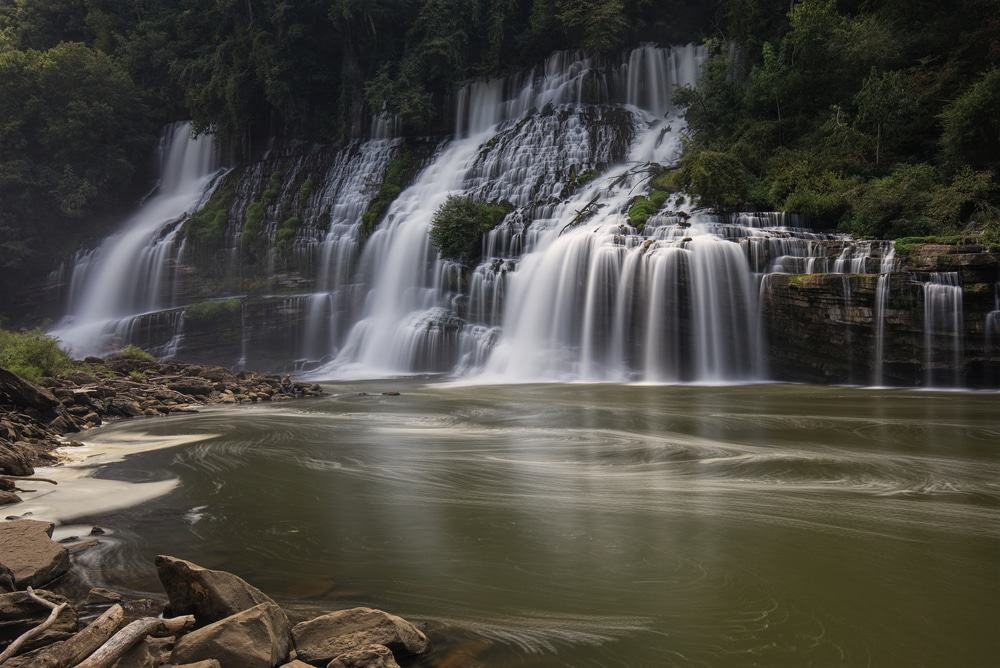 Twin Falls, Rock Island State Park, Tennessee