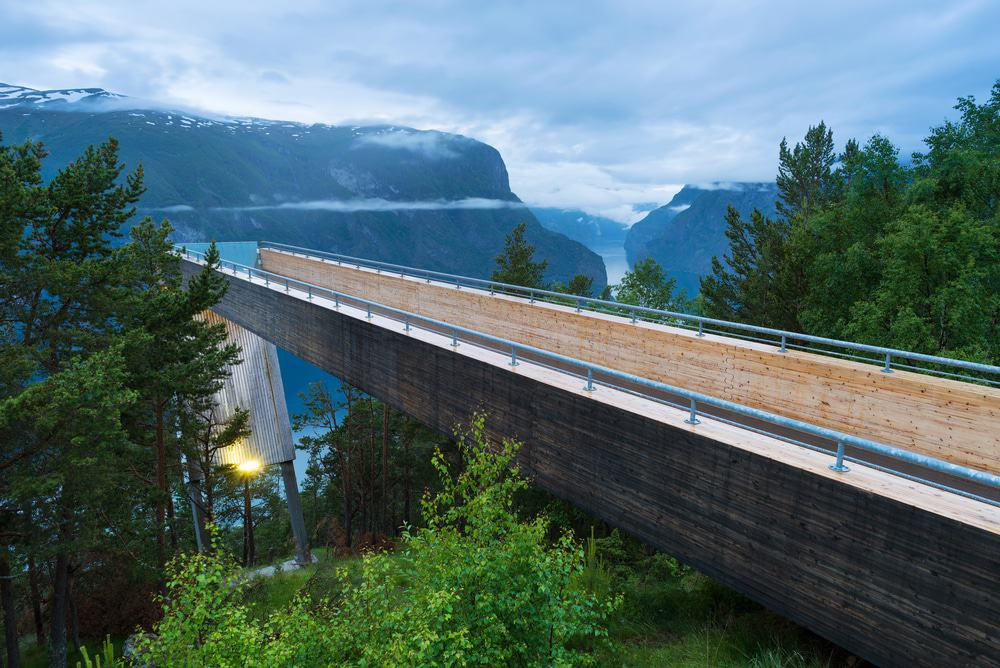 Stagastein Viewpoint, Aurlandsfjellet National Tourist Route