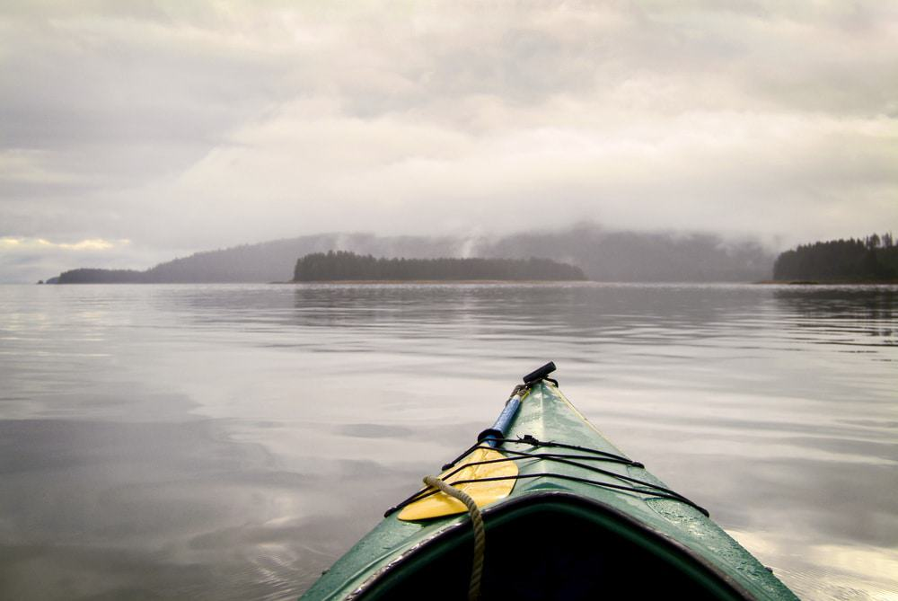 Kayaking in the Alaskan Wilderness