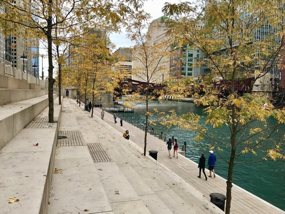 Riverside Walk, Chicago