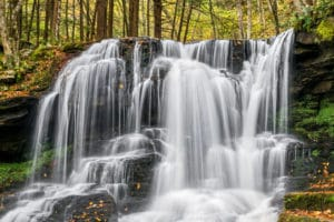 Dry Run Falls, Loyalsock State Forest, Pennsylvania